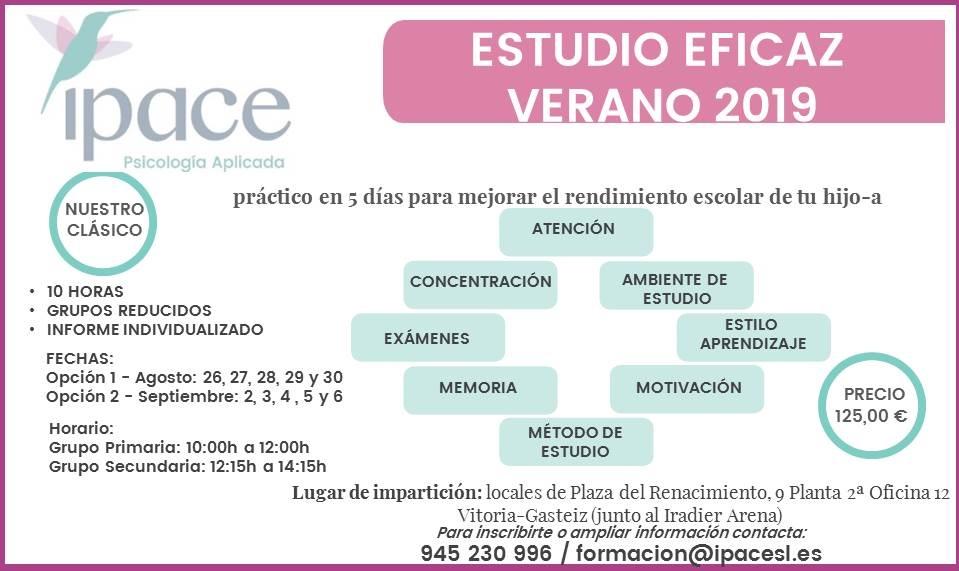 EstudioEficazVerano2019